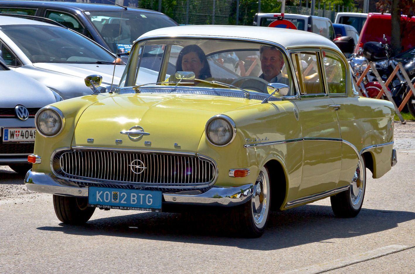 Автомобиль Opel Record Olimpia