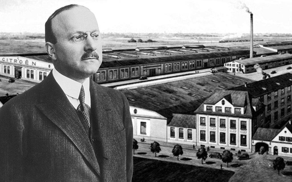 Андре Ситроен - основатель компании