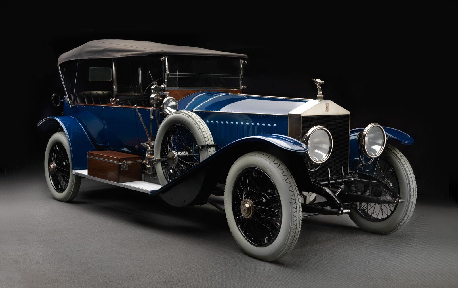 Первый автомобиль роллс ройс - Silver Ghost