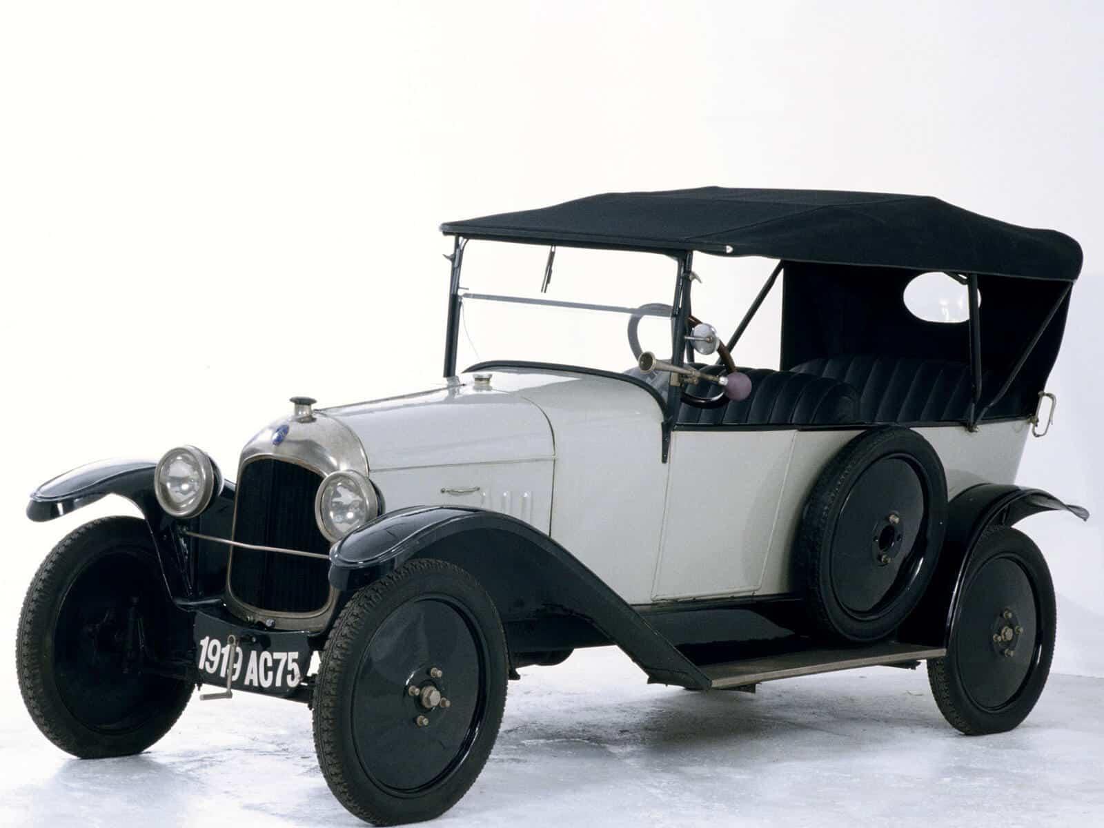 Первый автомобиль Sitroen Type A