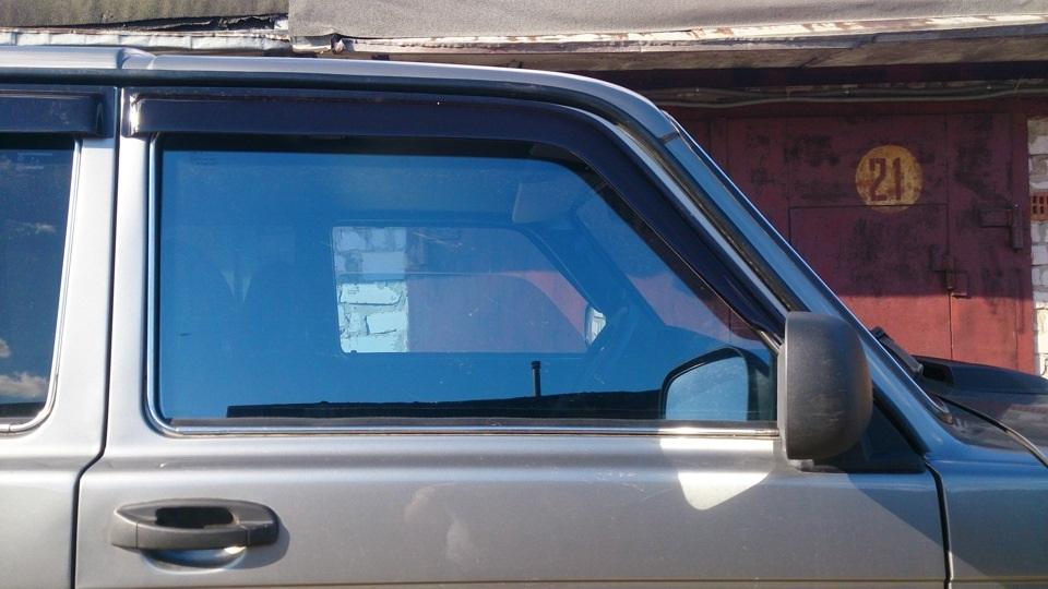 Пленка Armolan IR75 с голубым оттенком