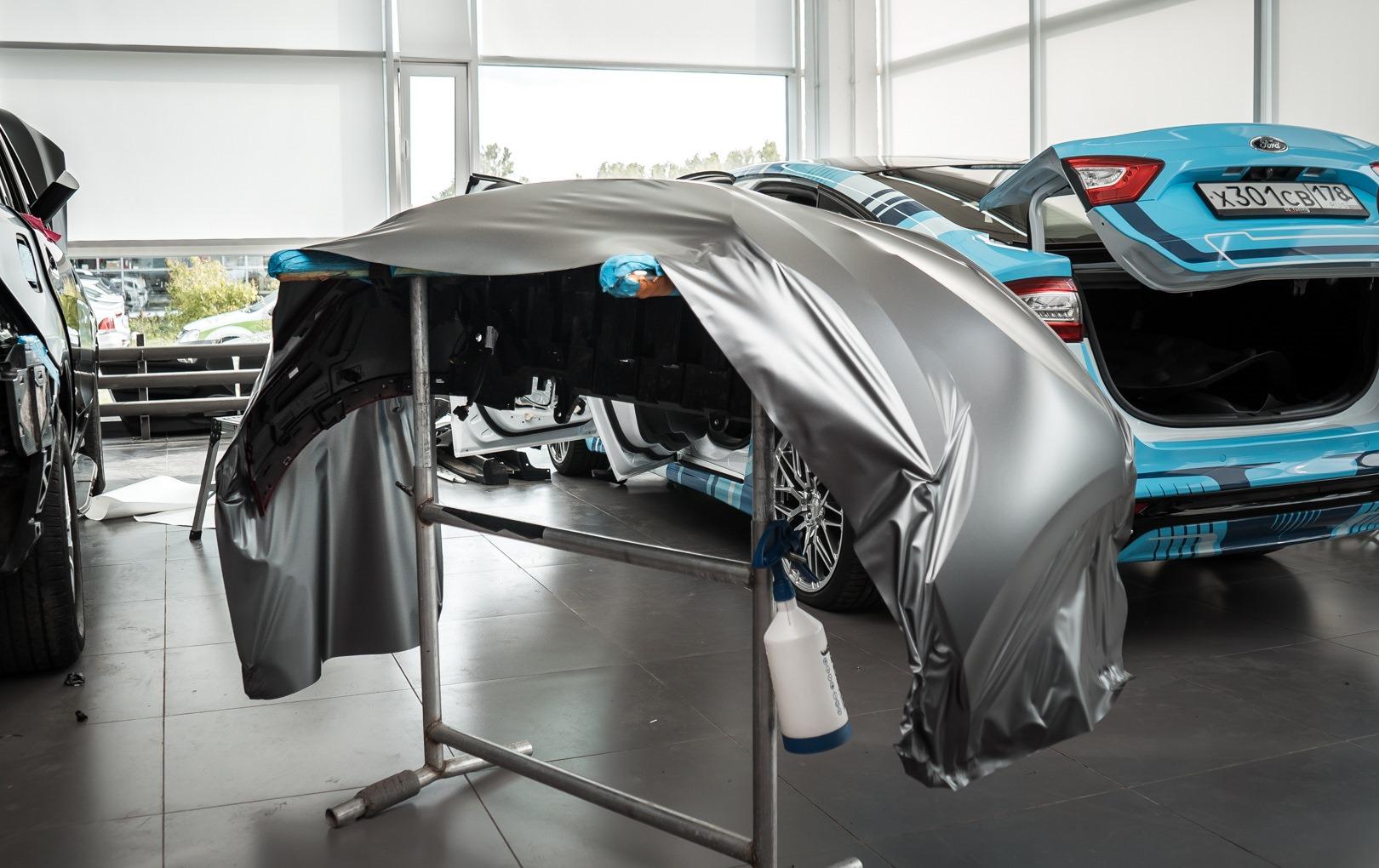 Пленка на бампере автомобиля Renault Arkana