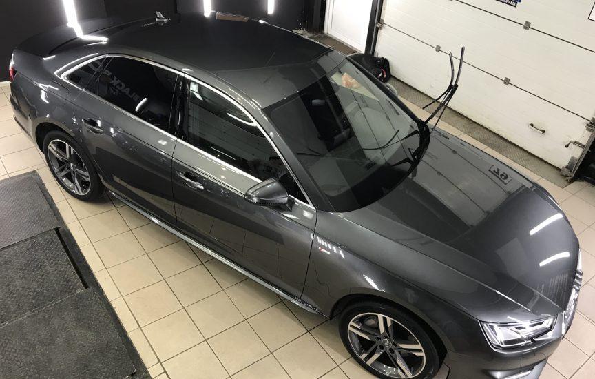 Полиуретановая пленка SunTek PPF на Audi A4