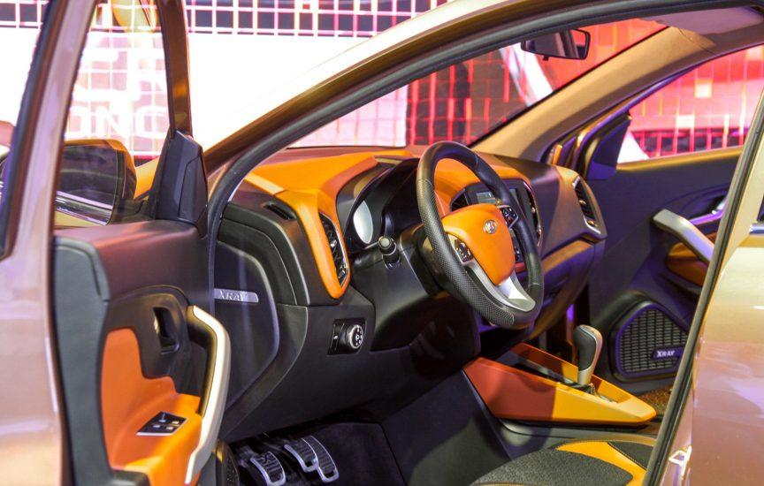 Салон автомобиля Lada