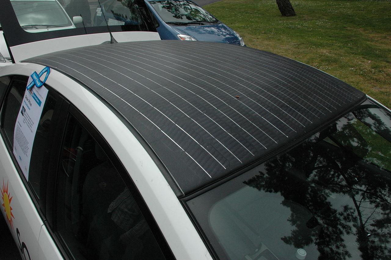 солнечные панели для автомобиля