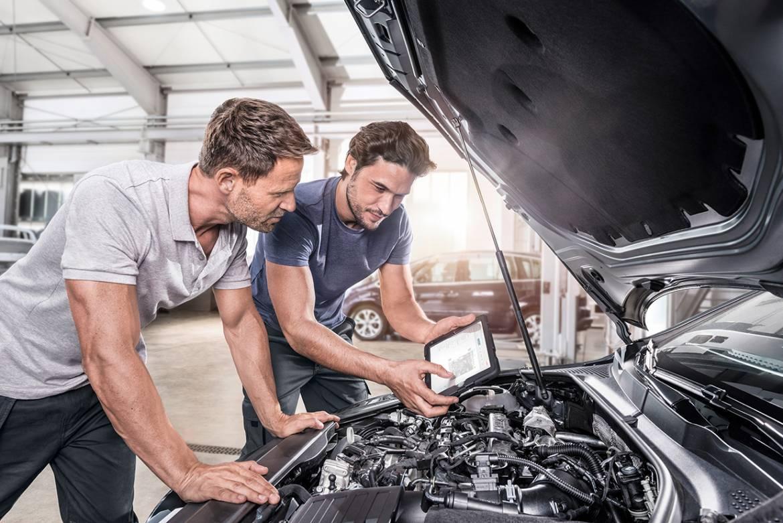 Техническое обслуживание автомобиля в автосервисе