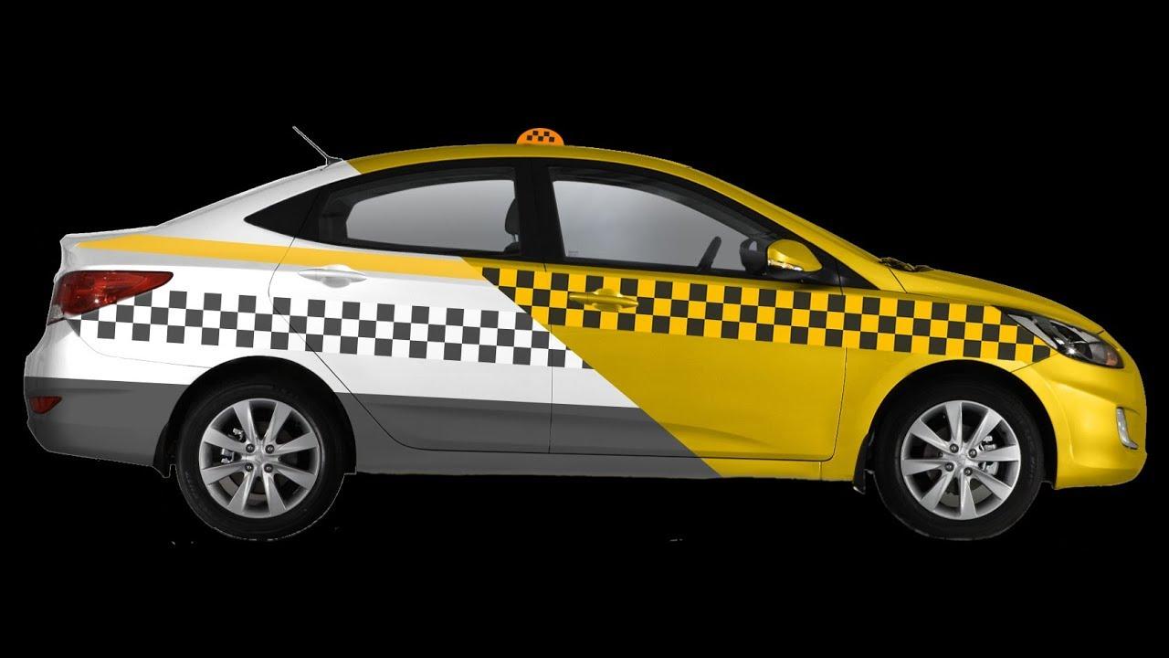 Варианты оформления авто под такси