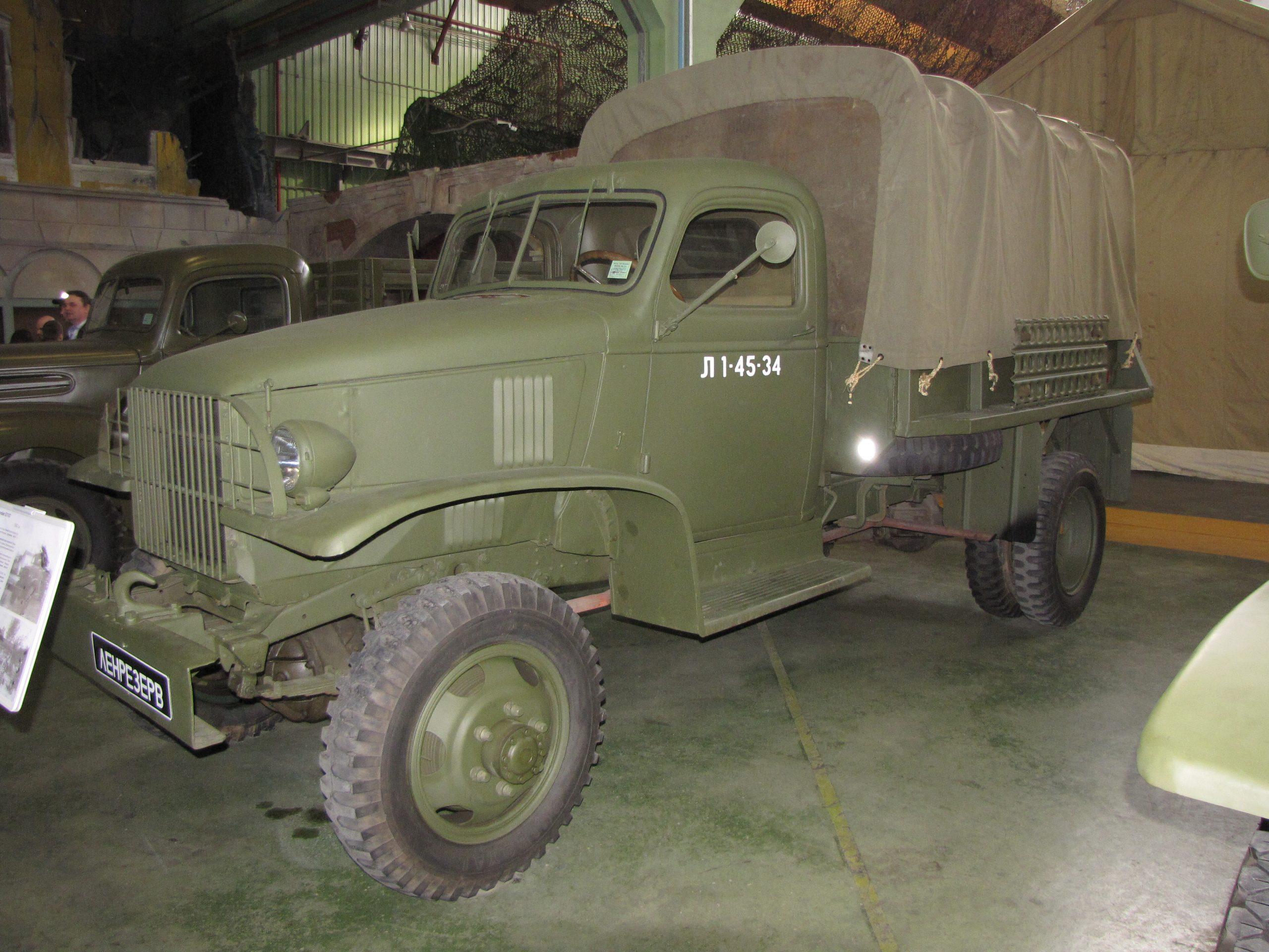 Военный грузовик «Шевроле»