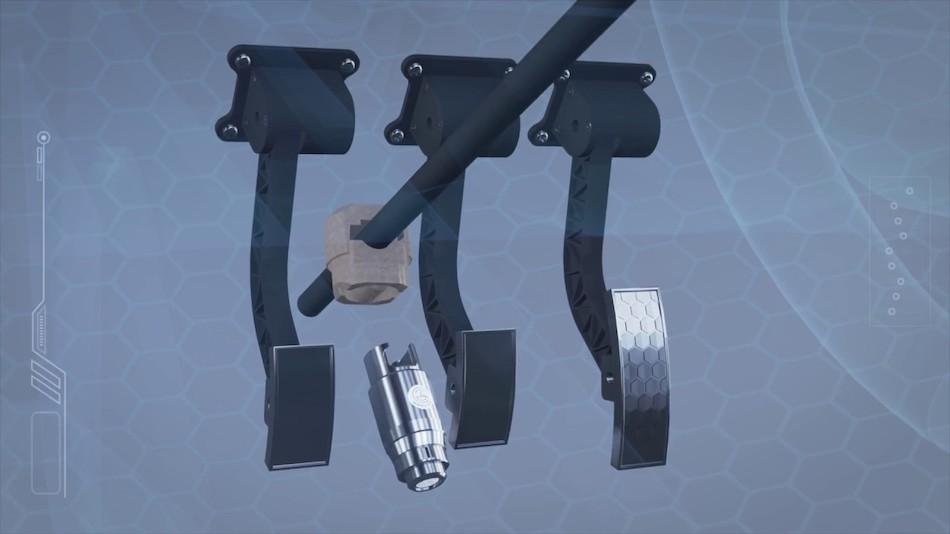 Механическое противоугонное устройство «Перехват — Универсал»