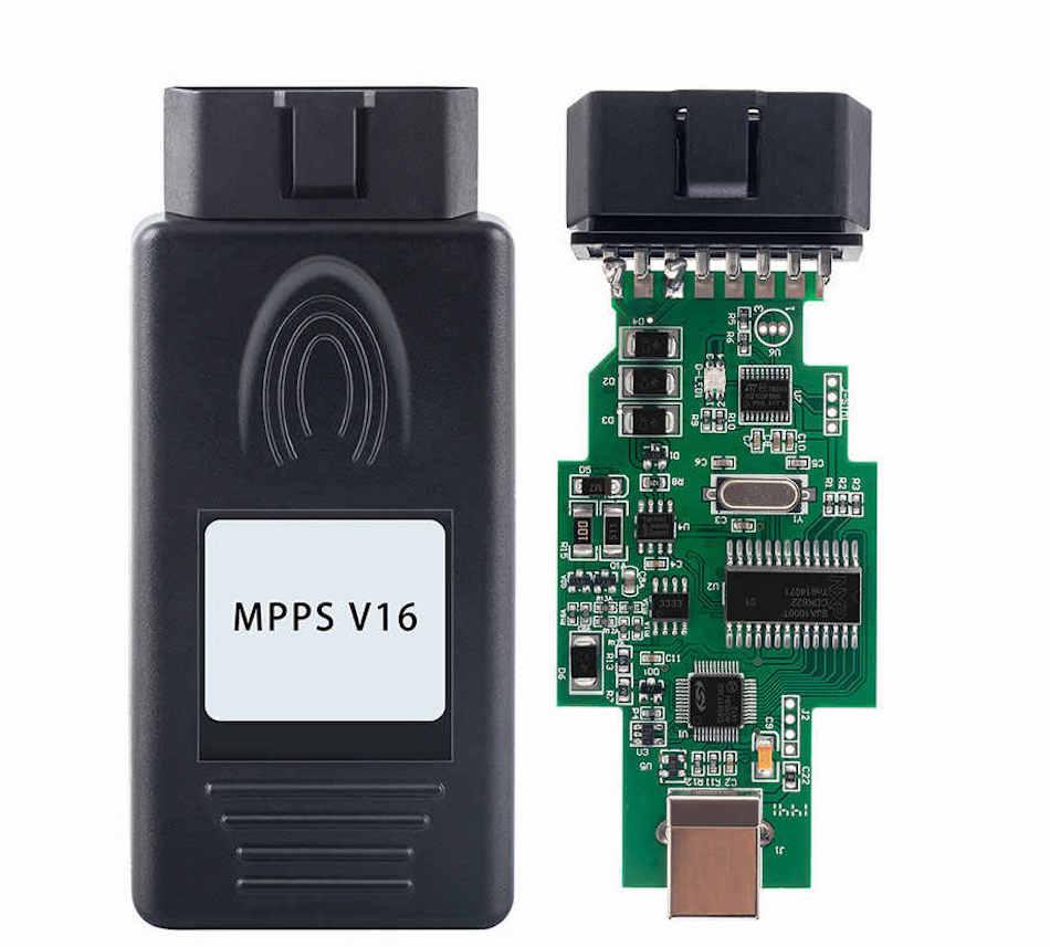 Программатор для чип-тюнинга MPPS V16