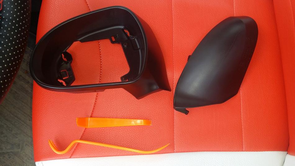 Крышки на зеркала Peugeot 308