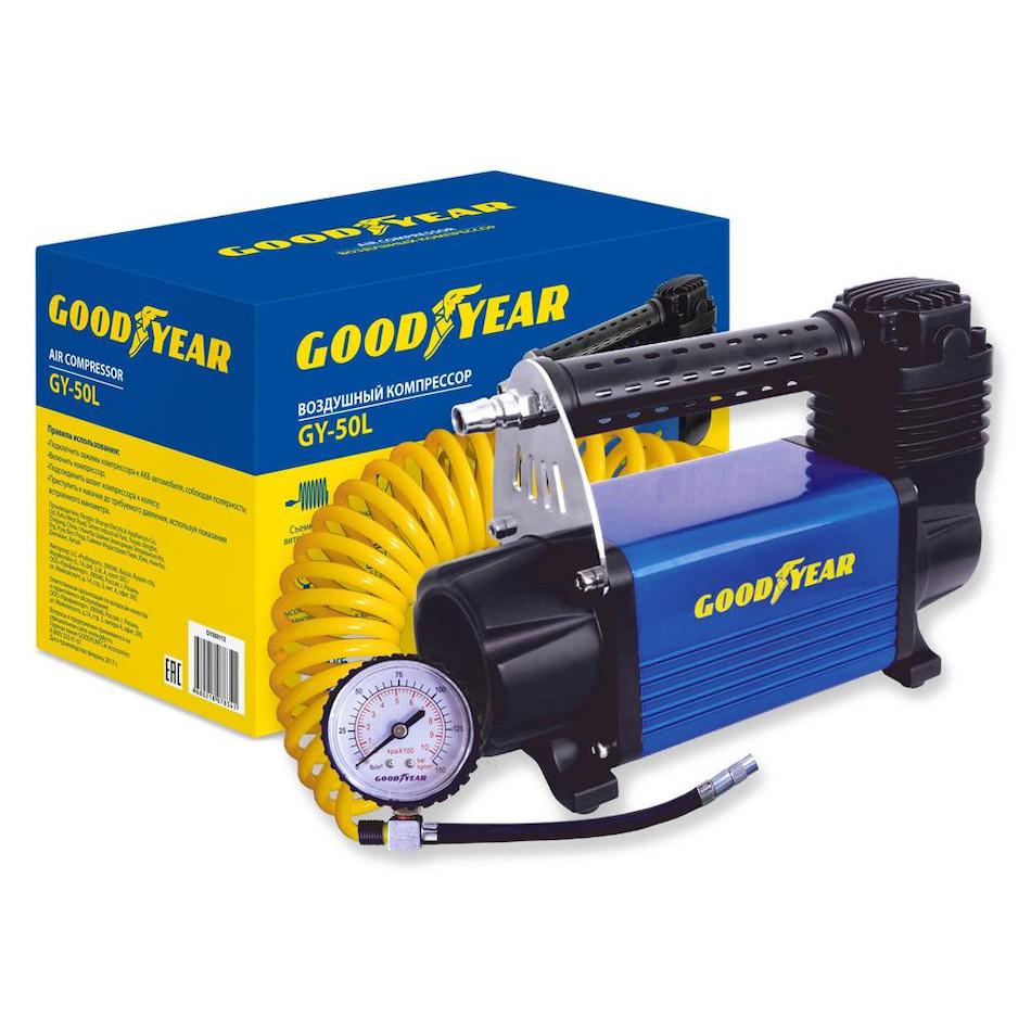 Автомобильный компрессор GOODYEAR GY-50L