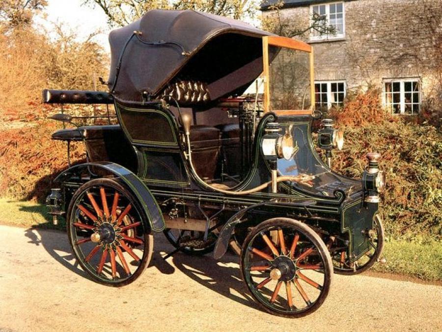 Автомобиль De Dietrich 1897 года