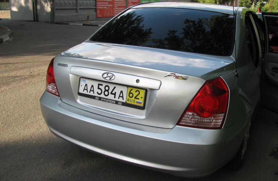 Автомобиль с транзитными номерами
