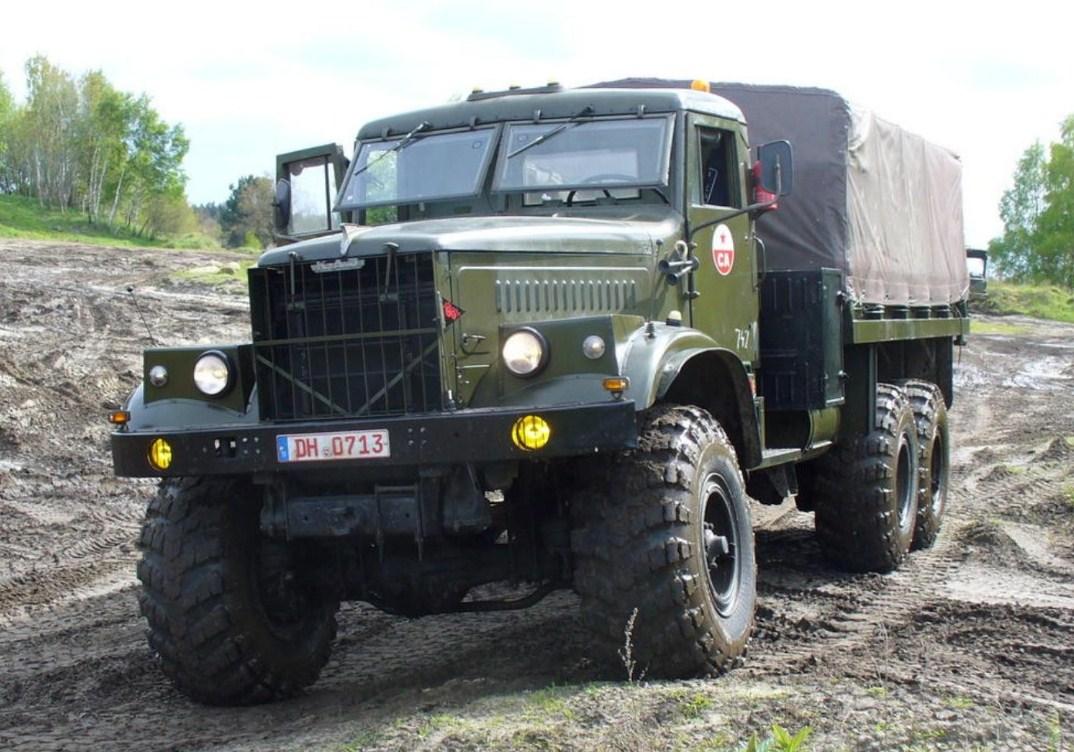 Автомобильная марка КрАЗ - история