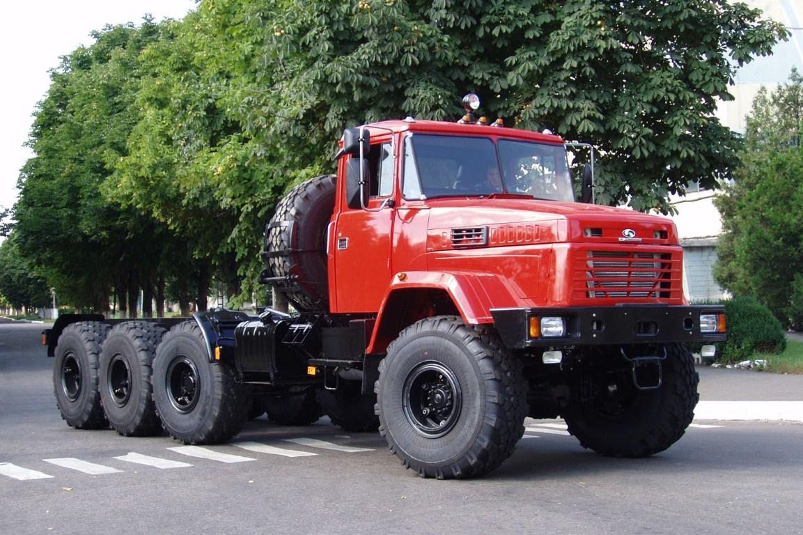 Модернизированный КрАЗ-221