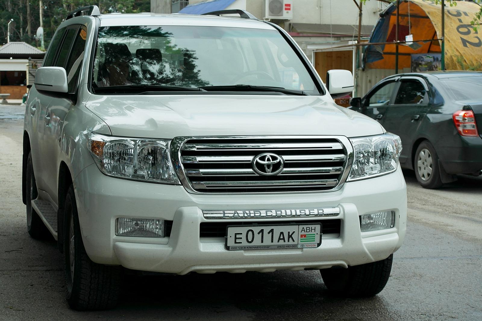 Автомобильные номера Абхазии