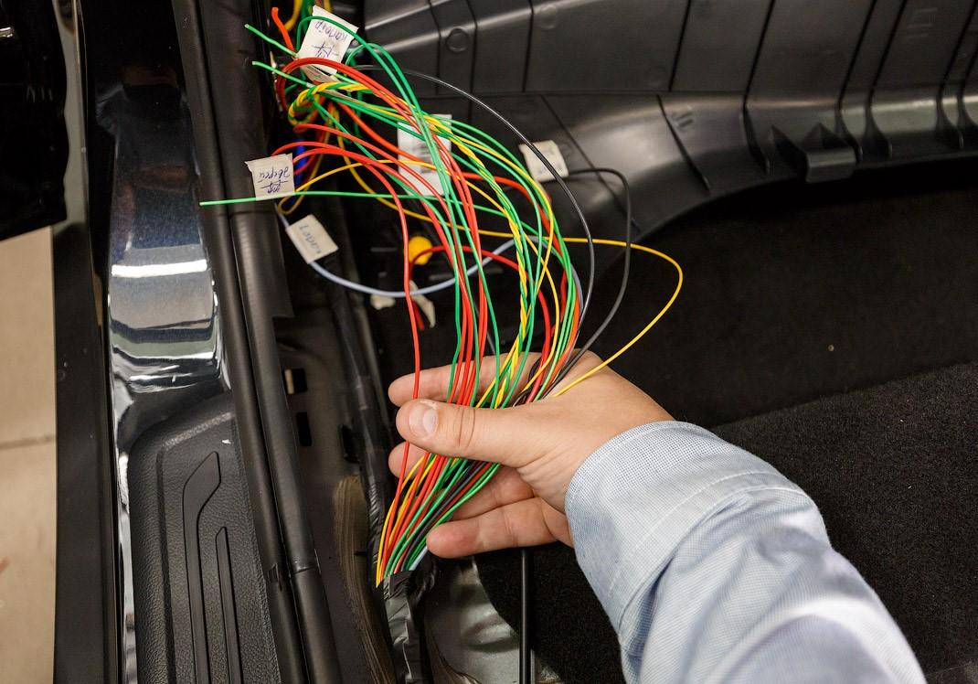 Авторская система защиты от угона автомобиля