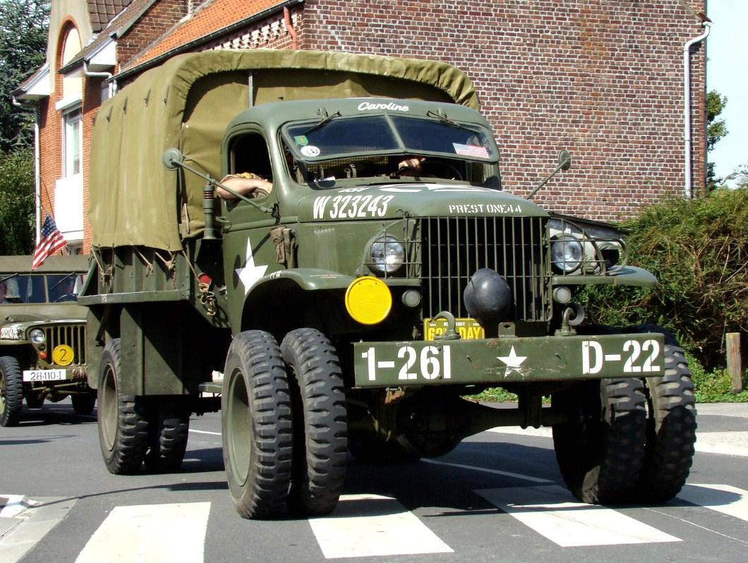 Денд-лиз для СССР: Chevrolet G4100, GMC CCKW