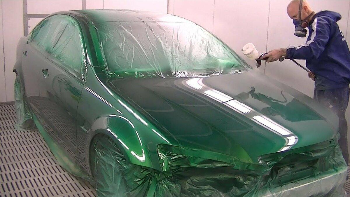Что использовать – пленку или краску для авто