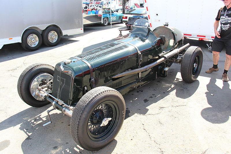 Гоночный автомобиль ERA Type B 1936 года