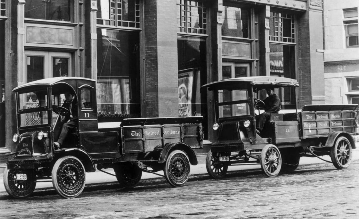 Первые грузовики «Дженерал Моторс»