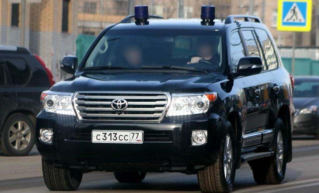 Какие номера на авто используются у спецслужб России