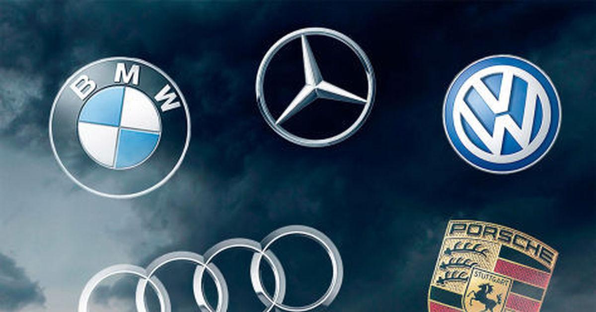 Марки машин немецкого производства
