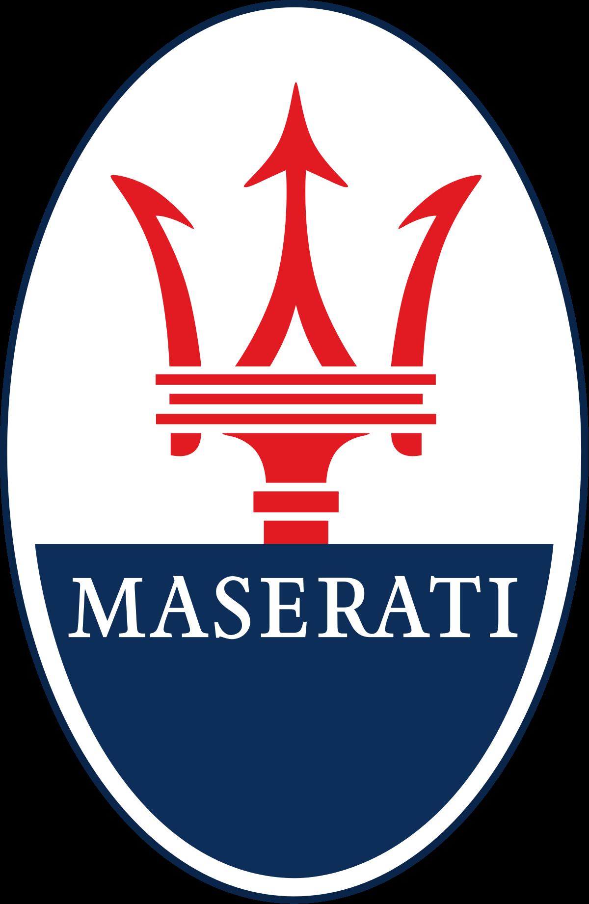 Логотип Мазератти