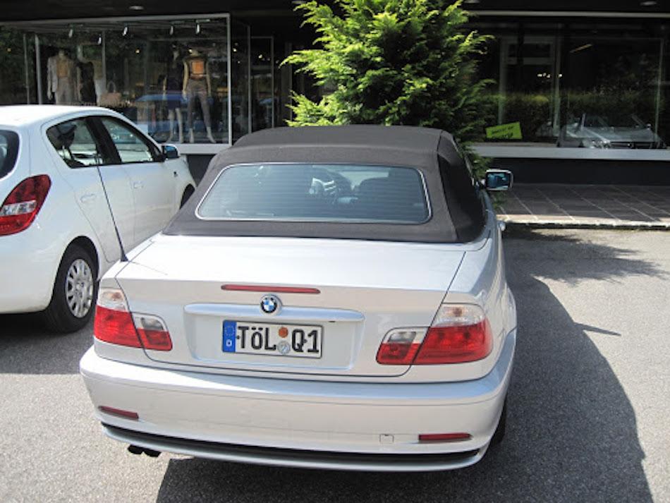 Номера на машине в Германии