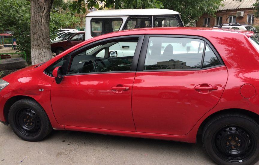 Номер краски автомобиля «Тойота»