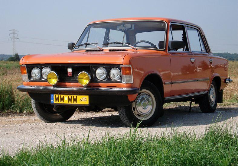 Польский автомобиль FSO 125p