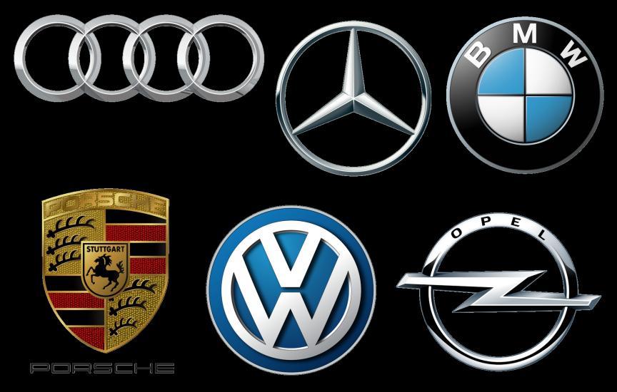 Список немецких марок авто со значками и названиями