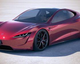 Спорткар Tesla Roadster 2020