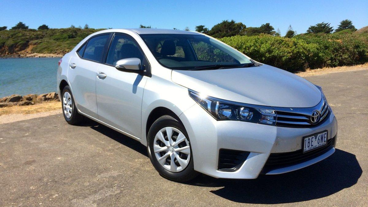 Toyota Corolla 2014 года