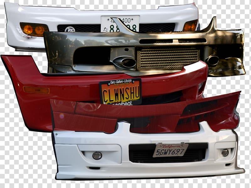 Варианты бамперов на разные автомобили