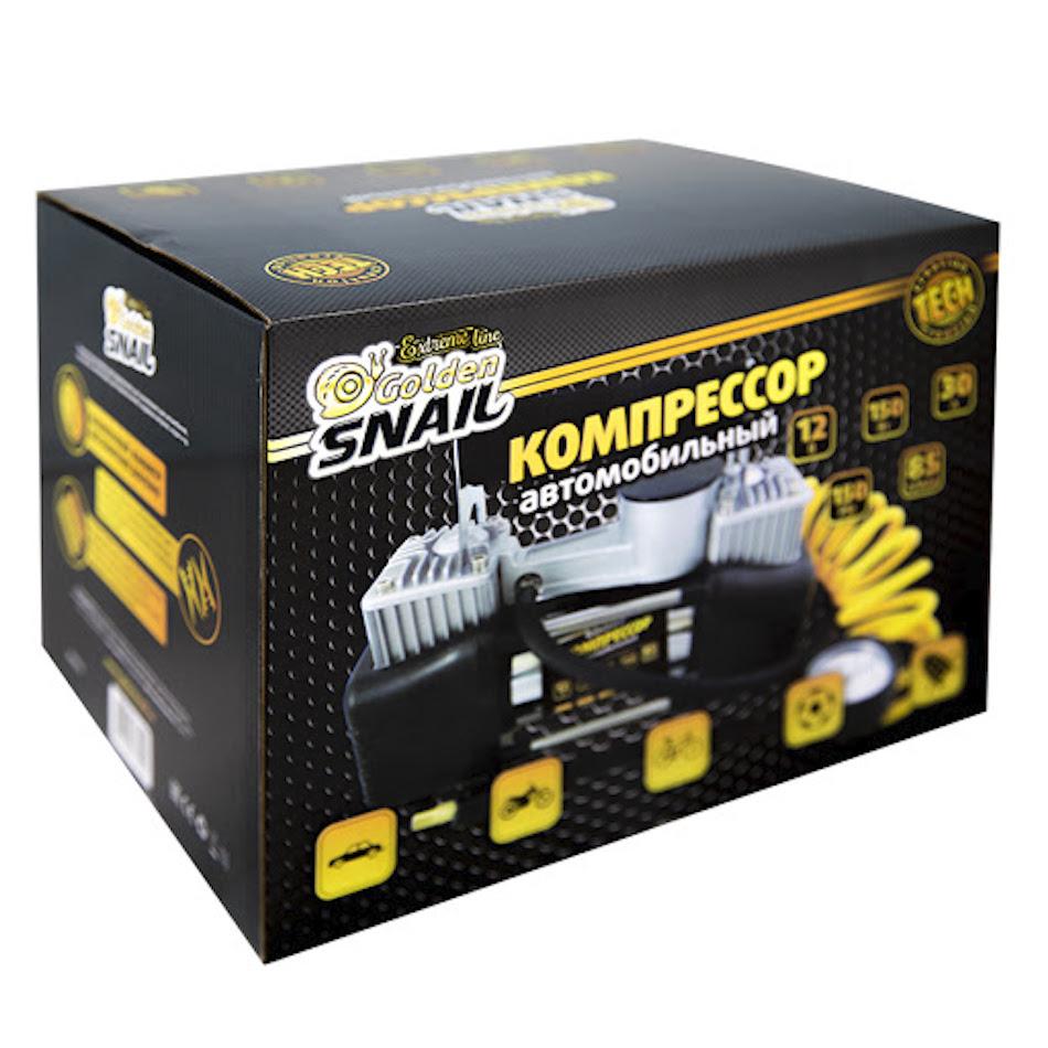 Автомобильный компрессор Golden Snail GS9213