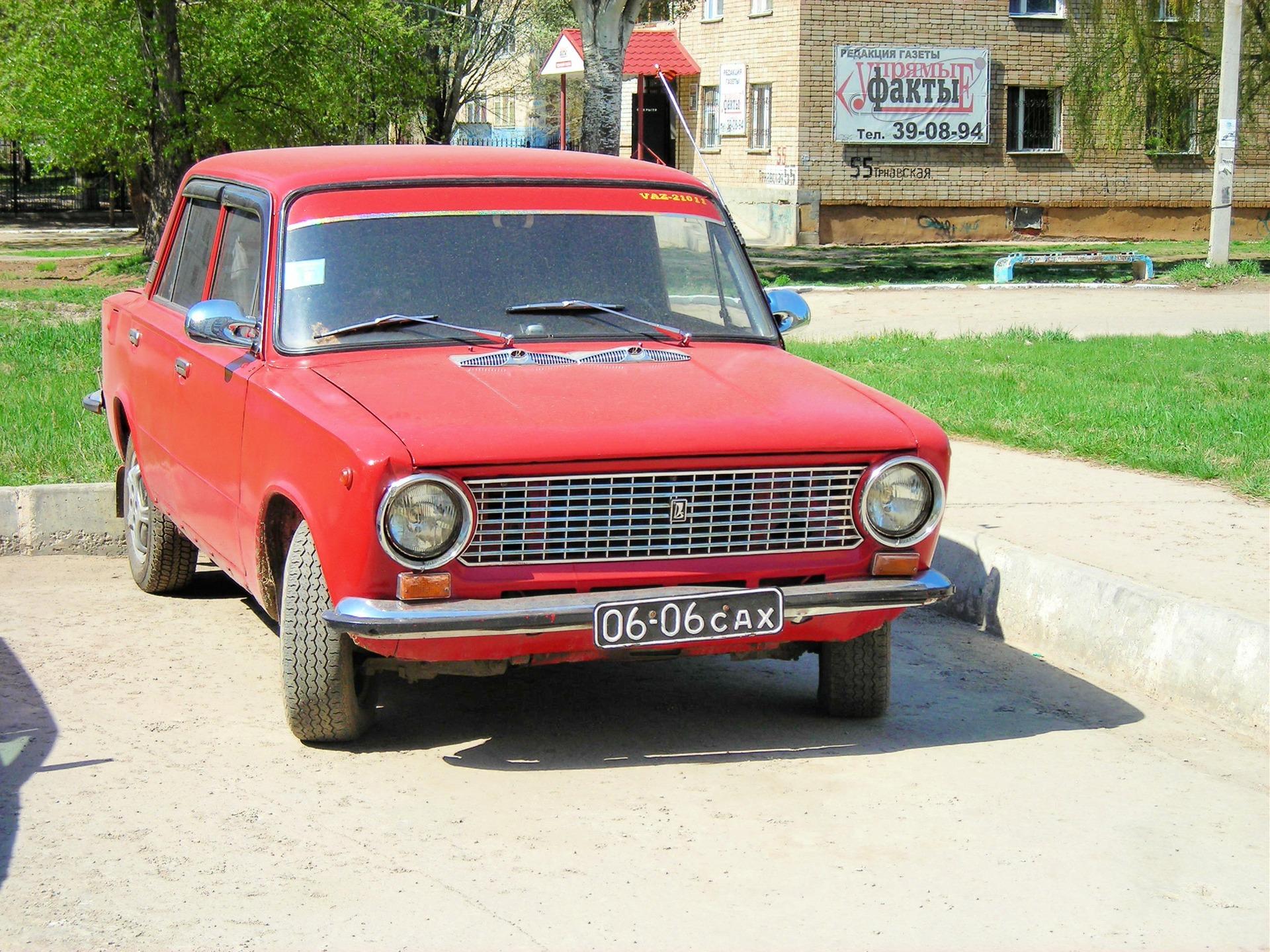 авто на советских номерах