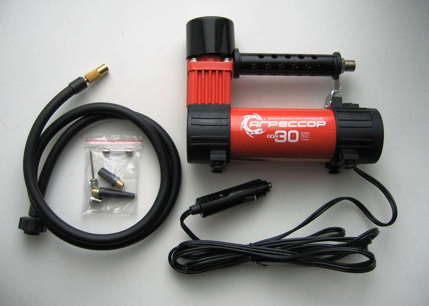 Автомобильный компрессор «Агрессор» AGR-30