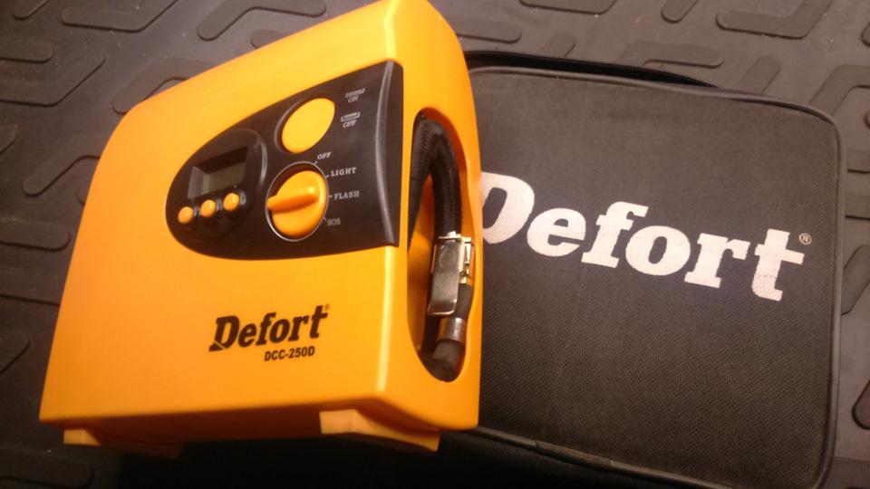Автомобильный компрессор Defort DCC 250D