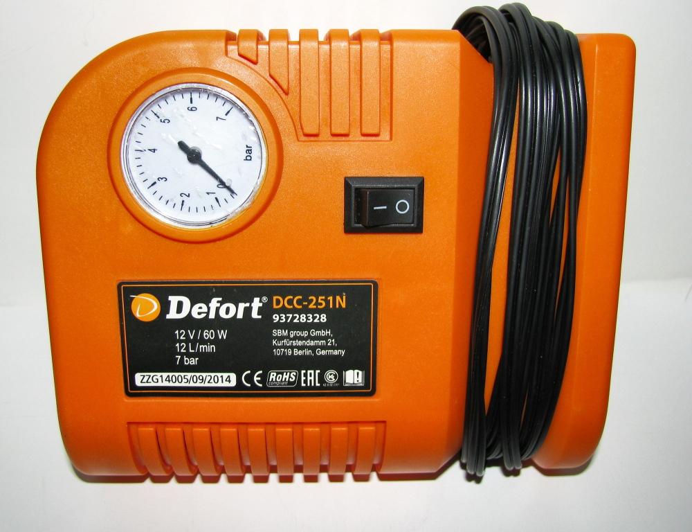 Автомобильный компрессор Defort DCC 251N