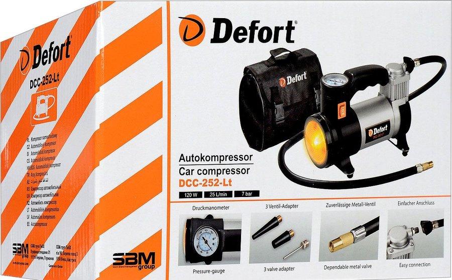 Автомобильный компрессор Defort DCC 252 LT