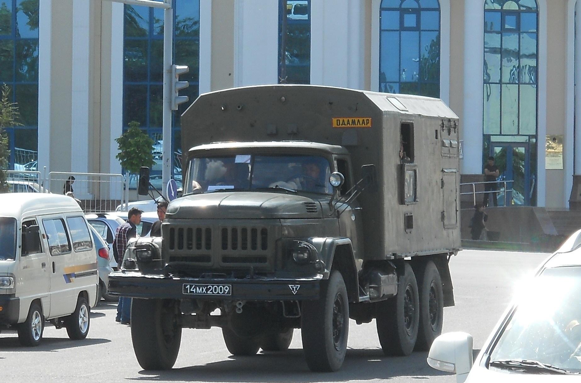 гос номера военных автомобилей россии