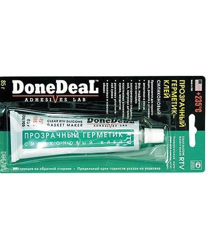 клей-герметик для вклейки стекол Done Deal 6705