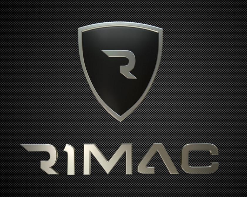 Логотип автомобильного бренда Rimac