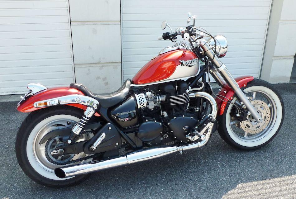 Мотоцикл марки Triumph