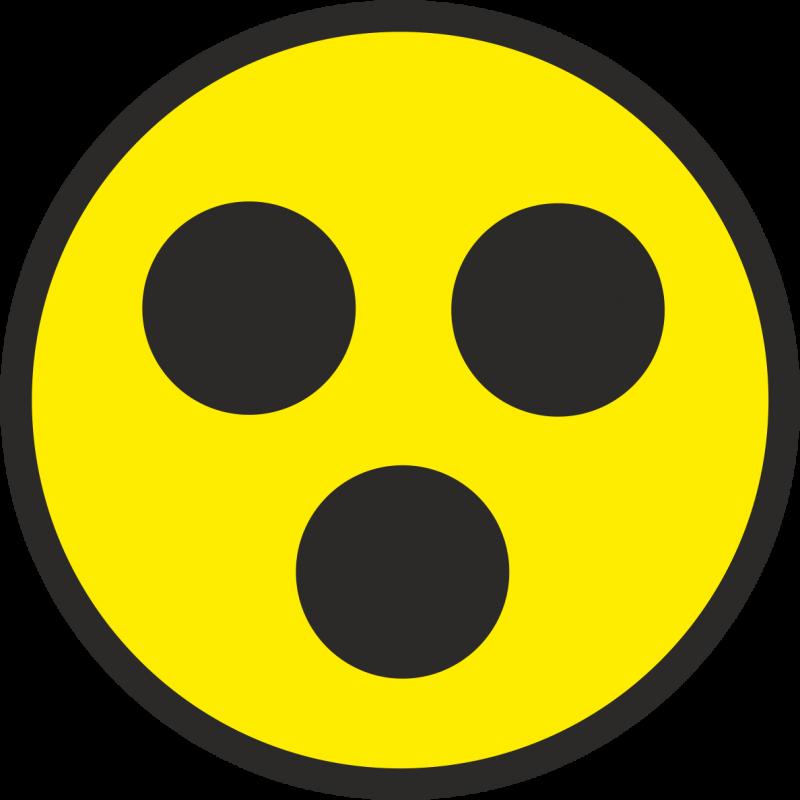 Наклейка на авто знак «Глухой водитель»
