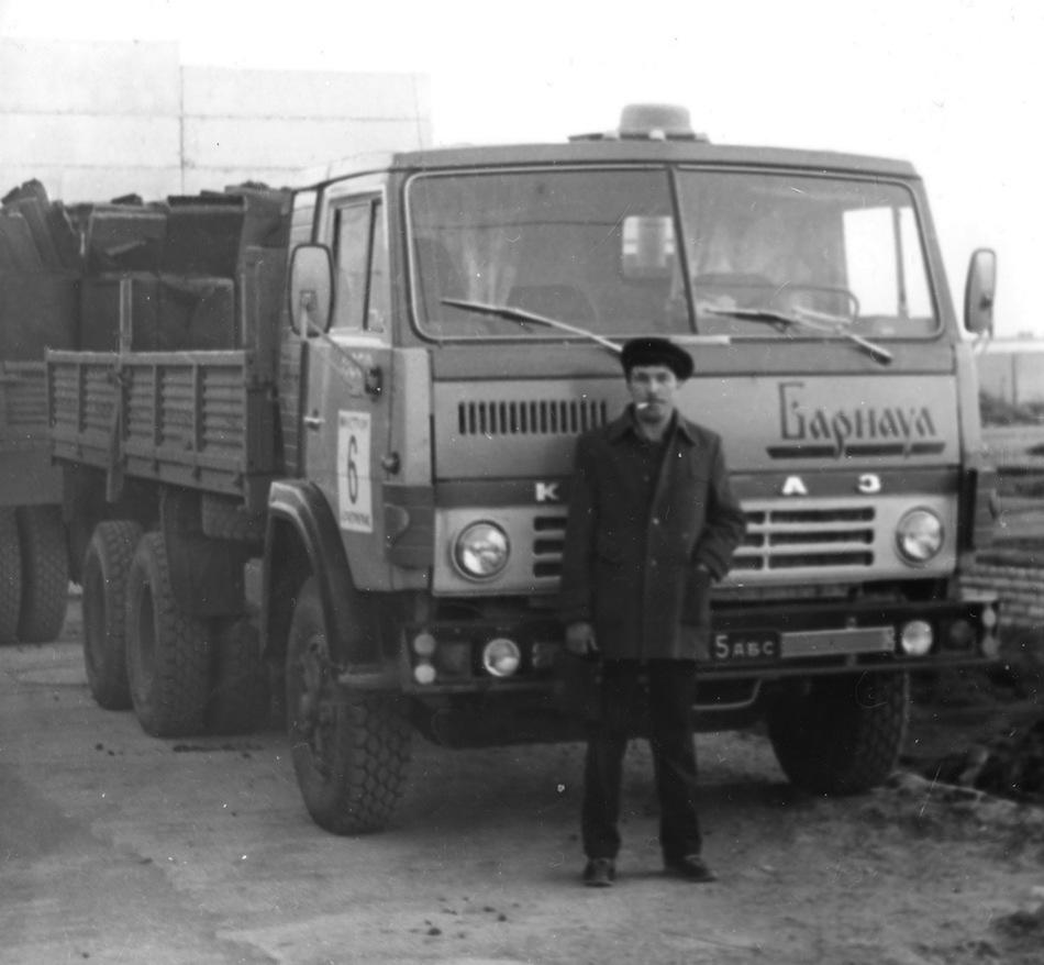 Первые модели КАМАЗ