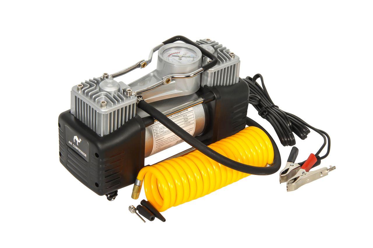 Поршневой автомобильный двухцилиндровый компрессор