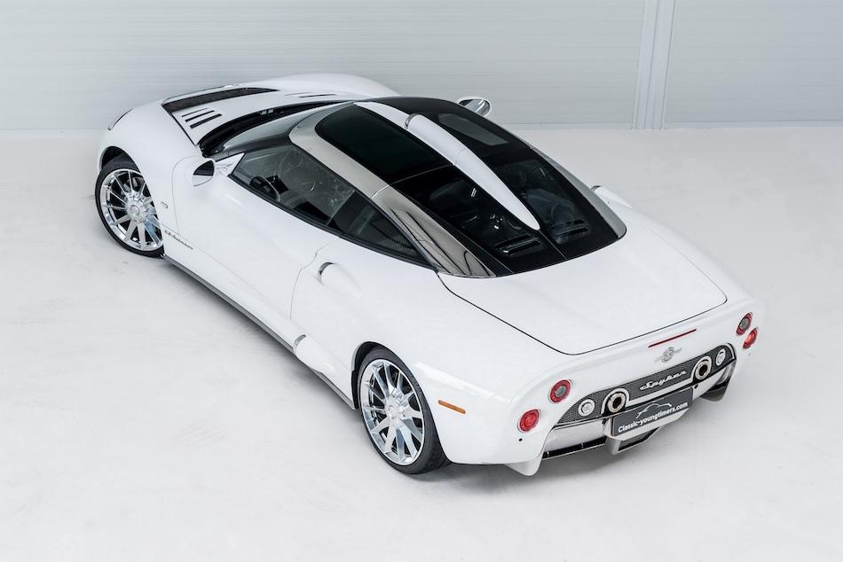 Spyker C8 Aileron White
